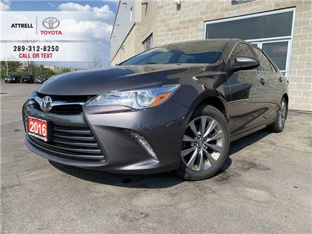 2016 Toyota Camry XLE 4 CYL LEATHER, NAVI, QI CHARGING, SUNROOF, PUS (Stk: 46700A) in Brampton - Image 1 of 24