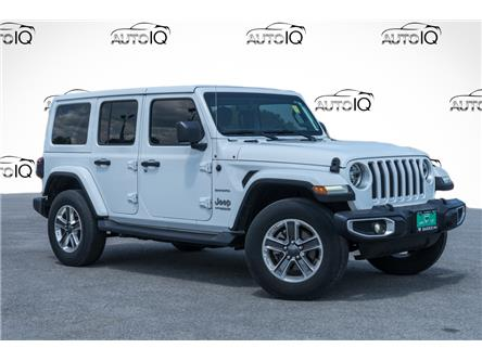 2018 Jeep Wrangler Unlimited Sahara (Stk: 27537U) in Barrie - Image 1 of 26