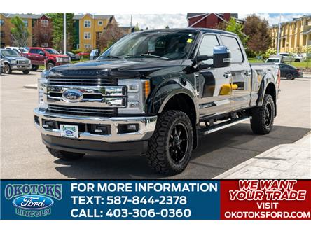 2018 Ford F-350 Lariat (Stk: L-474A) in Okotoks - Image 1 of 25