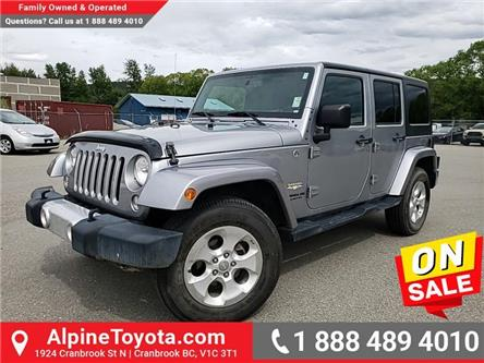 2015 Jeep Wrangler Unlimited Sahara (Stk: W633911N) in Cranbrook - Image 1 of 23