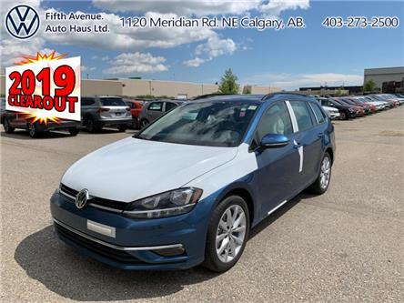 2019 Volkswagen Golf SportWagen 1.4 TSI Highline (Stk: 19676) in Calgary - Image 1 of 24