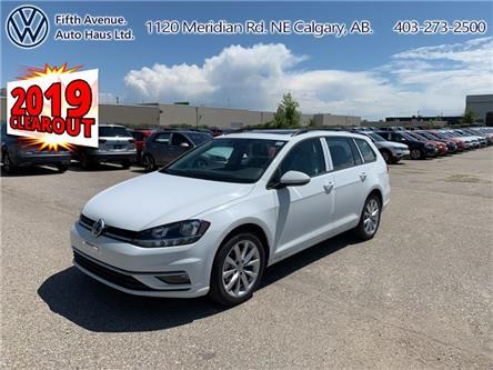 2019 Volkswagen Golf SportWagen 1.4 TSI Highline (Stk: 19678) in Calgary - Image 1 of 24