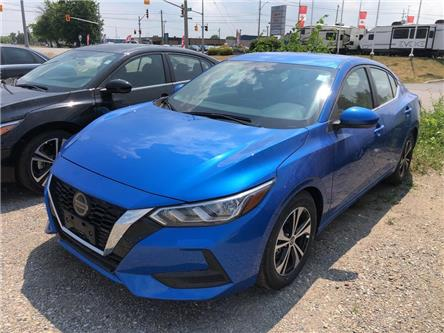 2020 Nissan Sentra SV (Stk: W0296) in Cambridge - Image 1 of 5