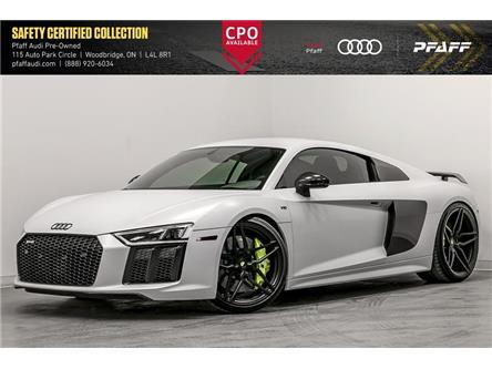 2018 Audi R8 5.2 V10 plus (Stk: T18327A) in Vaughan - Image 1 of 22