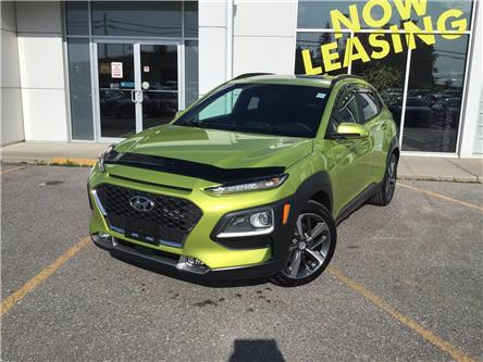 2020 Hyundai Kona 1.6T Ultimate w/Lime Colour Pack (Stk: H12536) in Peterborough - Image 1 of 26