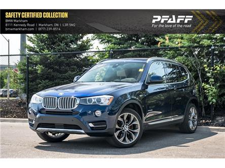 2017 BMW X3 xDrive28i (Stk: D13149) in Markham - Image 1 of 22