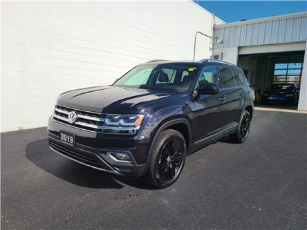 2019 Volkswagen Atlas 3.6 FSI Execline (Stk: V19235) in Sarnia - Image 1 of 19