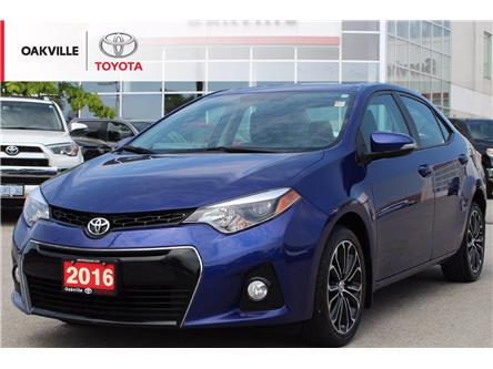 2016 Toyota Corolla S (Stk: LP0246) in Oakville - Image 1 of 18