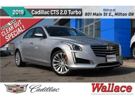 2019 Cadillac CTS 2.0L Turbo Luxury (Stk: 100688) in Milton - Image 1 of 11