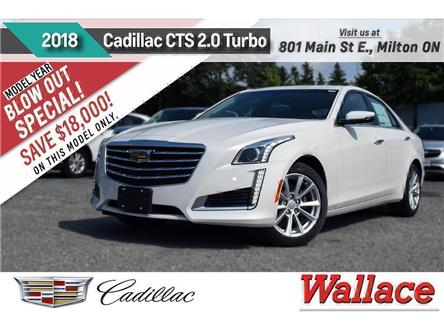 2018 Cadillac CTS 2.0L Turbo (Stk: 133669) in Milton - Image 1 of 15