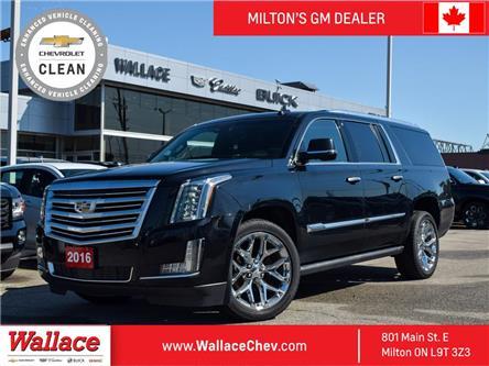 2016 Cadillac Escalade ESV PLATINUM | ESV | NO ACCIDENT | DVD | NAV | 360 CAM (Stk: PL5259) in Milton - Image 1 of 28