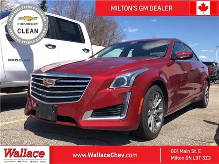 2019 Cadillac CTS Turbo Luxury AWD I Roof I HTD Lther I Safety PKG (Stk: PL5302) in Milton - Image 1 of 6