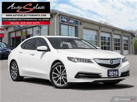 2016 Acura TLX SH-AWD (Stk: 1A6TXL9) in Scarborough - Image 1 of 29
