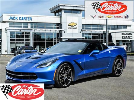 2015 Chevrolet Corvette Stingray Z51 (Stk: 23317L) in Calgary - Image 1 of 30
