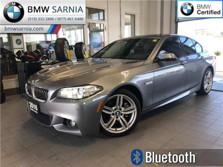 2016 BMW 528i xDrive (Stk: BU735) in Sarnia - Image 1 of 19
