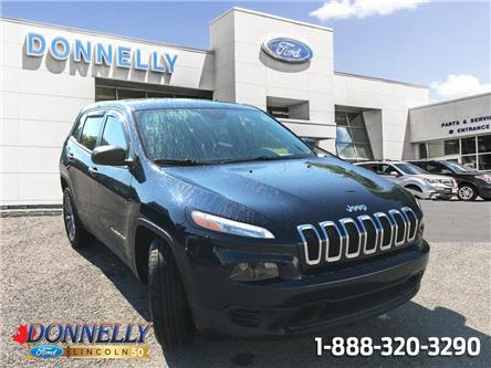 2015 Jeep Cherokee Sport (Stk: DT616A) in Ottawa - Image 1 of 17