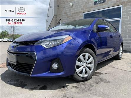 2014 Toyota Corolla S BACK UP CAMERA, KEYLESS, FOG LAMPS, SPOILER, ABS (Stk: 46947A) in Brampton - Image 1 of 23