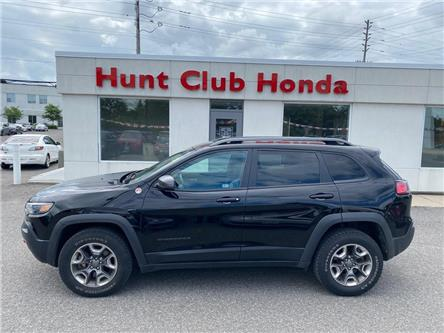 2019 Jeep Cherokee Trailhawk (Stk: B00427A) in Gloucester - Image 1 of 15
