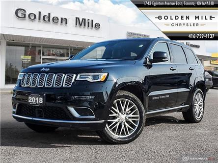 2018 Jeep Grand Cherokee Summit (Stk: 20138A) in North York - Image 1 of 27