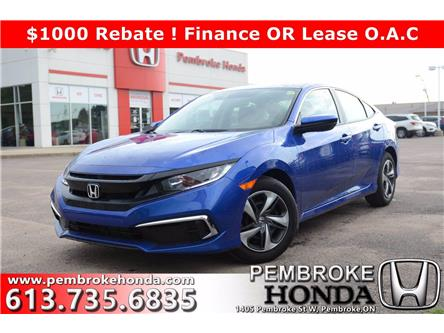 2020 Honda Civic LX (Stk: 20153) in Pembroke - Image 1 of 23