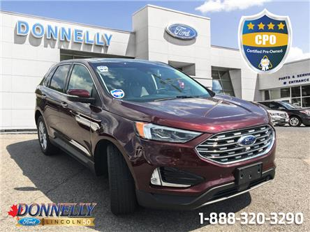 2019 Ford Edge Titanium (Stk: DUR6459) in Ottawa - Image 1 of 19