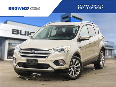 2017 Ford Escape Titanium (Stk: 4499A) in Dawson Creek - Image 1 of 8