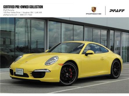 2014 Porsche 911 Carrera 4S Coupe PDK (Stk: U8825) in Vaughan - Image 1 of 17
