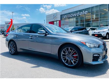 2017 Infiniti Q50 3.0t Red Sport 400 (Stk: H8404A) in Thornhill - Image 1 of 17