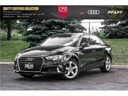 2019 Audi A3 40 Komfort (Stk: C7640) in Vaughan - Image 1 of 22