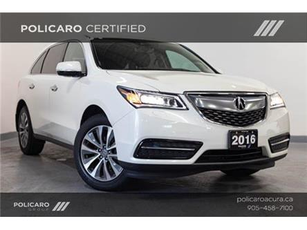 2016 Acura MDX Technology Package (Stk: 508921T) in Brampton - Image 1 of 20