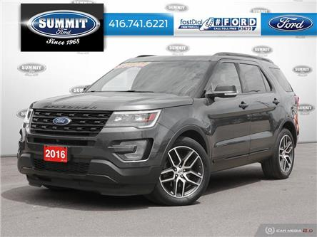 2016 Ford Explorer Sport (Stk: P21708) in Toronto - Image 1 of 26