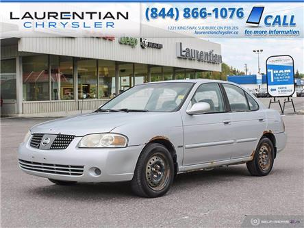 2005 Nissan Sentra 1.8 Special Edition Package (Stk: P0133B) in Sudbury - Image 1 of 22