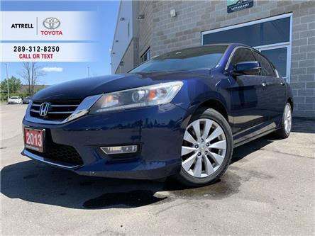 2013 Honda Accord Sedan EX-L LEATHER, SUNROOF, PUSH BUTTON START, ALLOYS, (Stk: 46812A) in Brampton - Image 1 of 23