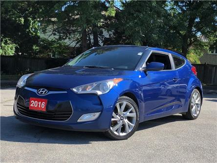2016 Hyundai Veloster SE  |BACKUP CAM |BLUETOOTH | AUTOMATIC (Stk: 5679) in Stoney Creek - Image 1 of 17