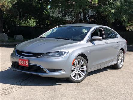 2015 Chrysler 200 Limited |1 OWNER | LOW PAYMENTS!! (Stk: 5686) in Stoney Creek - Image 1 of 19