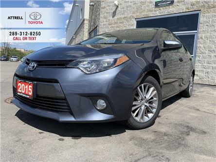 2015 Toyota Corolla LE UPGRADE SUNROOF, ALLOY WHEELS, FOG LAMPS, ABS, (Stk: 9075) in Brampton - Image 1 of 22