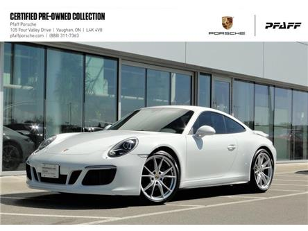2017 Porsche 911 Carrera 4 Coupe PDK (Stk: U8747) in Vaughan - Image 1 of 19