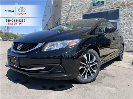 2015 Honda Civic Sedan EX SUNROOF, ALLOYS, HEATED SEATS, PUSH BUTTON STAR (Stk: 44827A) in Brampton - Image 1 of 24