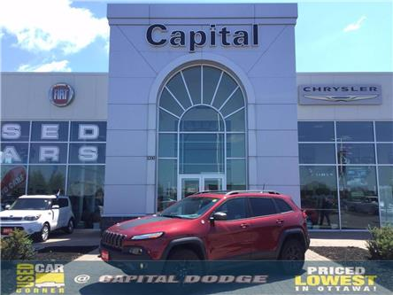 2016 Jeep Cherokee Trailhawk (Stk: L00253A) in Kanata - Image 1 of 28