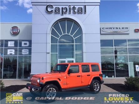 2020 Jeep Wrangler Unlimited Sahara (Stk: P2952) in Kanata - Image 1 of 25