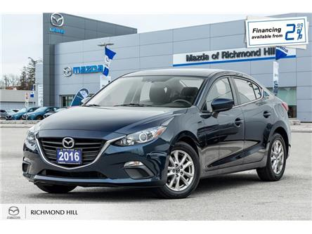 2016 Mazda Mazda3 GS (Stk: P0499) in Richmond Hill - Image 1 of 21