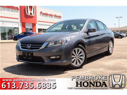 2015 Honda Accord EX-L V6 (Stk: P7469) in Pembroke - Image 1 of 29
