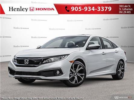 2020 Honda Civic Sport (Stk: H18718) in St. Catharines - Image 1 of 23