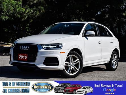 2016 Audi Q3 Komfort |LEATHER |AWD | SUNROOF |HEAT SEATS (Stk: 5693) in Stoney Creek - Image 1 of 24