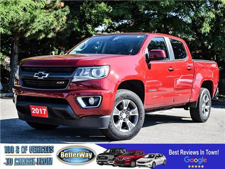 2017 Chevrolet Colorado 4WD Z71 |4X4 | NAVIGATION | NO ACCIDENTS (Stk: 5630A) in Stoney Creek - Image 1 of 10
