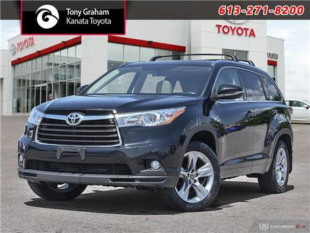 2016 Toyota Highlander Limited (Stk: M2901) in Ottawa - Image 1 of 30