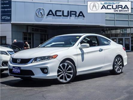 2013 Honda Accord EX-L-NAVI V6 (Stk: 20409A) in Burlington - Image 1 of 24