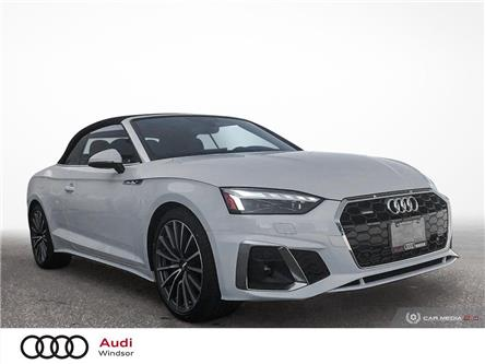 2020 Audi A5 2.0T Technik (Stk: 9966) in Windsor - Image 1 of 30