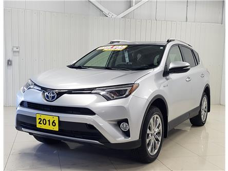 2016 Toyota RAV4 Hybrid Limited (Stk: T20196A) in Sault Ste. Marie - Image 1 of 20