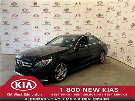 2016 Mercedes-Benz C-Class Base (Stk: 7569) in Edmonton - Image 1 of 28